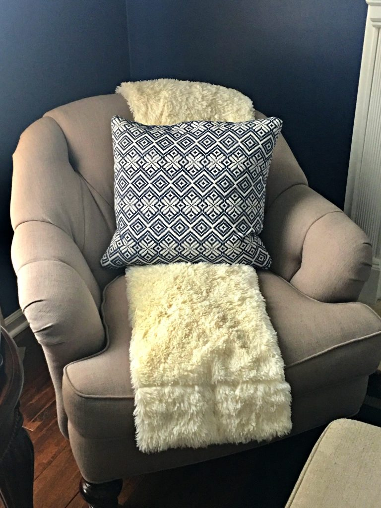 Homegoods pillow for my sitting room