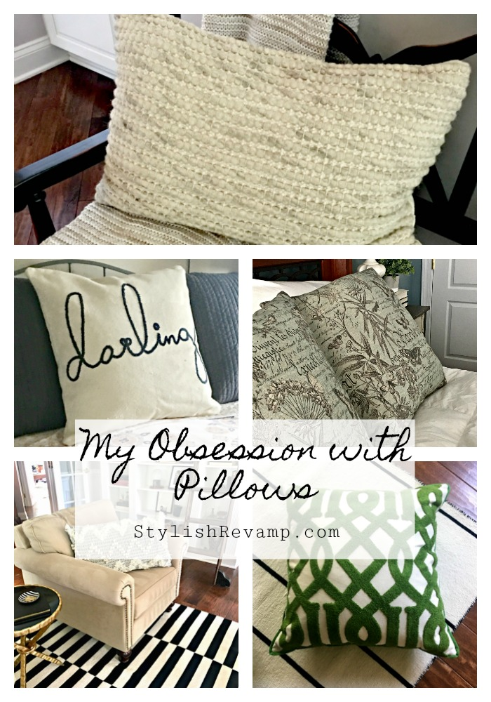 My Obsession with Pillows