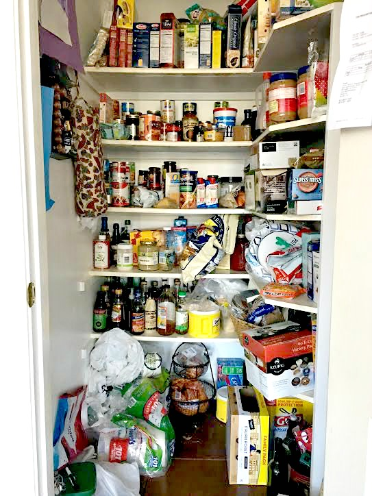 Pantry before the Major overhaul