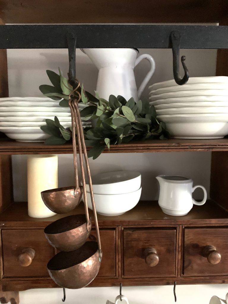 Copper ladles bring Fall Touches