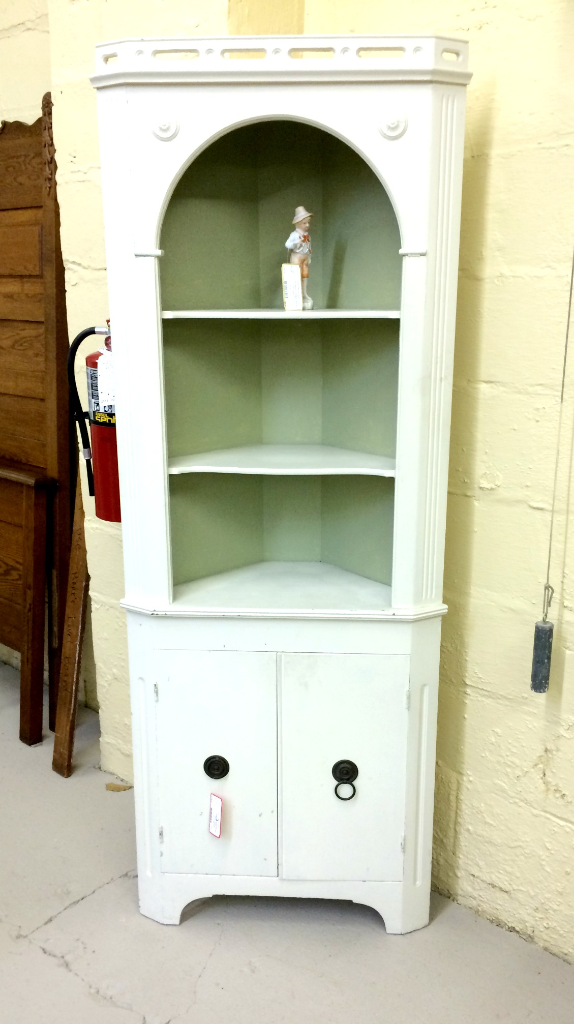 white corner cabinet before and after archives stylish revamp 28545