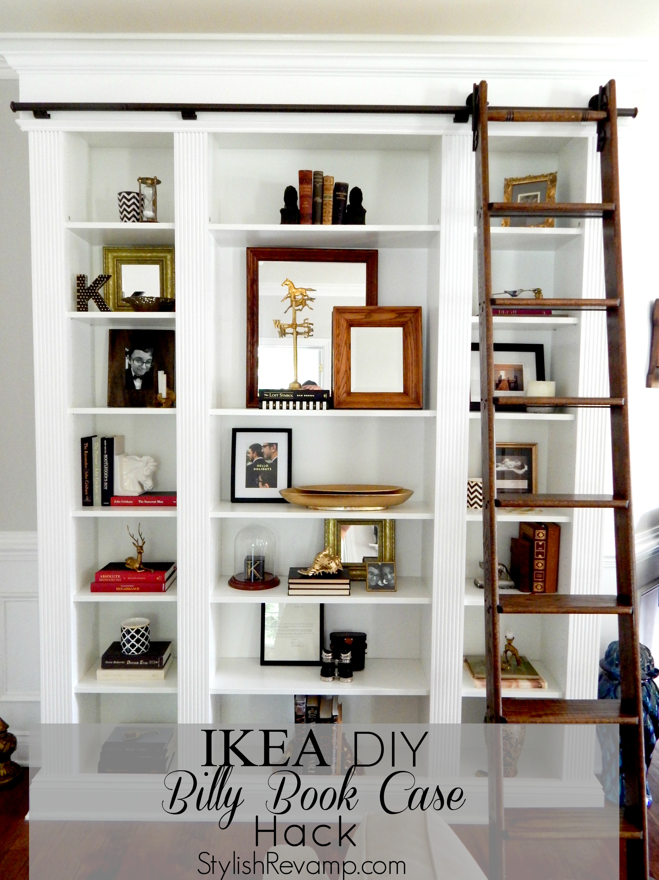 Designing With The Ikea Book Case Stylish Revamp