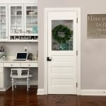 Dressing Up my Pantry with a Vintage Door